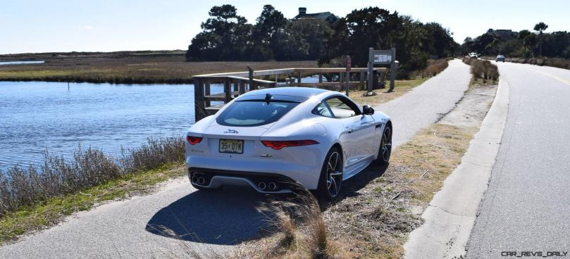 2016 JAGUAR F-Type R AWD White with Black Pack 54