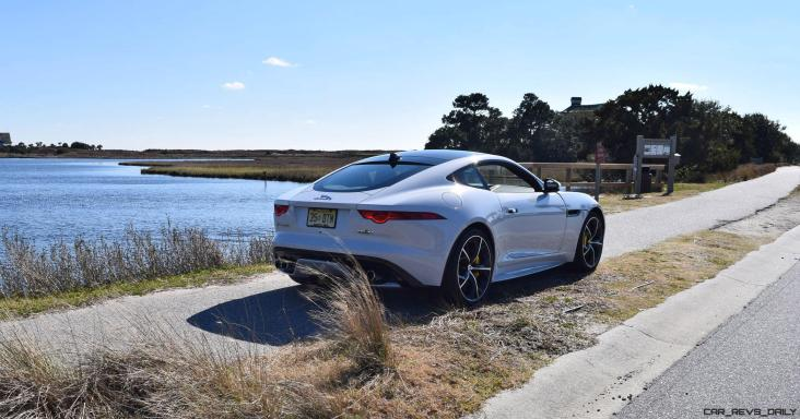 2016 JAGUAR F-Type R AWD White with Black Pack 55