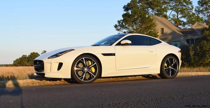 2016 JAGUAR F-Type R AWD White with Black Pack 6