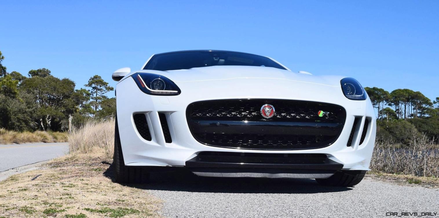 2016 JAGUAR F-Type R AWD White with Black Pack 61
