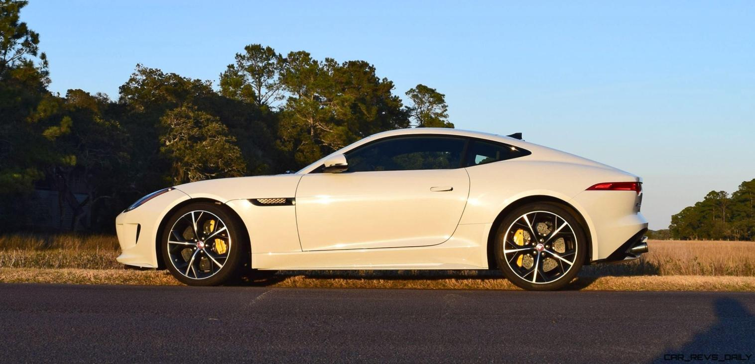 2016 JAGUAR F-Type R AWD White with Black Pack 7