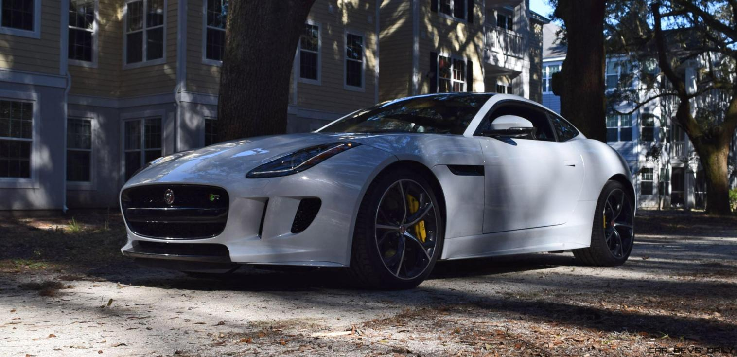 2016 JAGUAR F-Type R AWD White with Black Pack 85