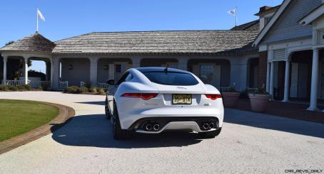 2016 JAGUAR F-Type R AWD White with Black Pack 87