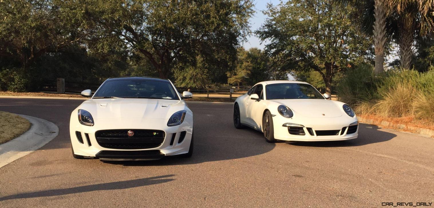 2016 Jaguar F-Type Coupe Meets Its Rivals 2