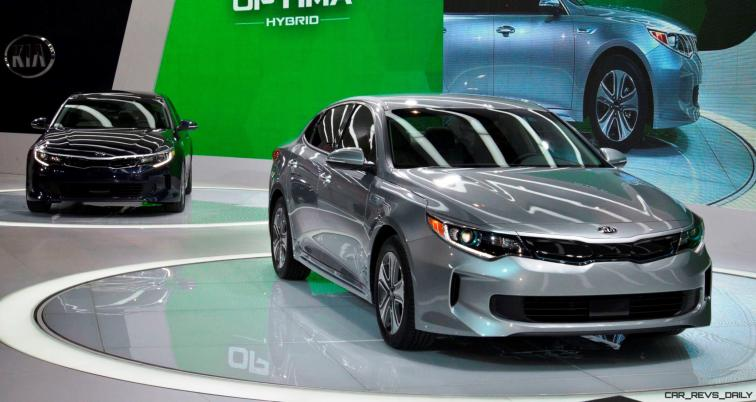 2016 KIA Optima Hybrid 11