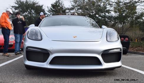 2016 Porsche Boxster SPYDER Silver 18