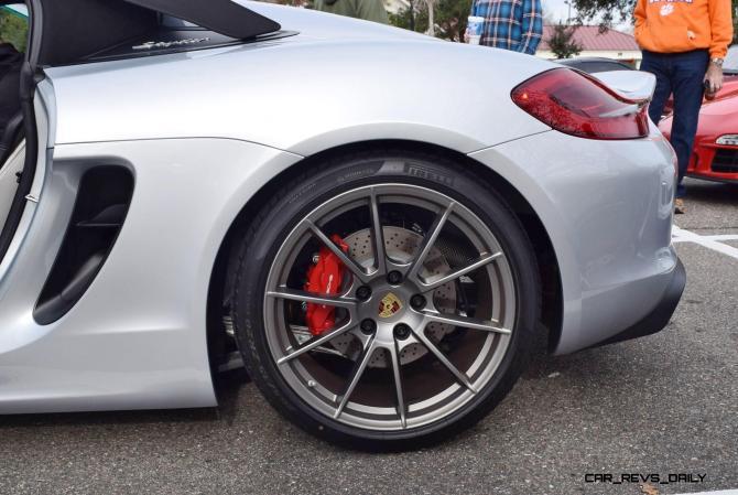 2016 Porsche Boxster SPYDER Silver 23