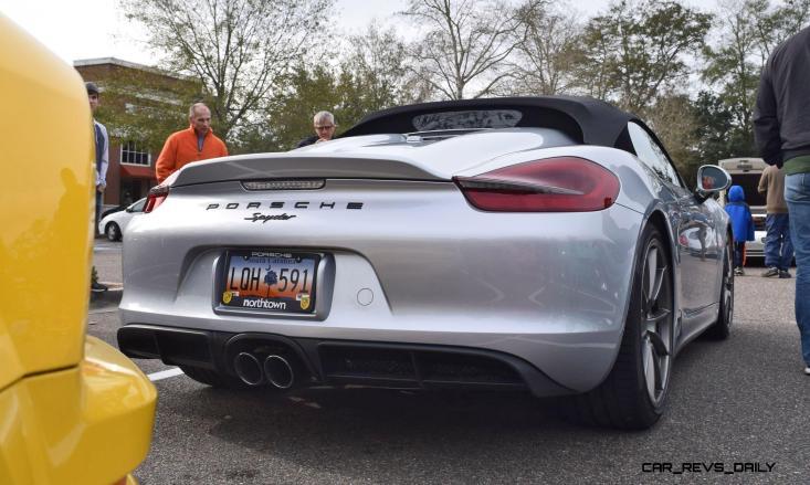 2016 Porsche Boxster SPYDER Silver 54