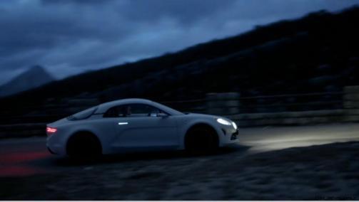 2016 Renault ALPINE Vision Concept - Video Stills 1