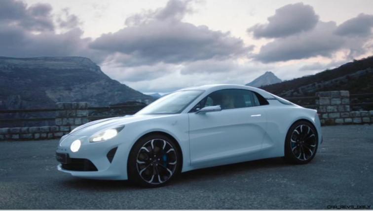 2016 Renault ALPINE Vision Concept - Video Stills 27