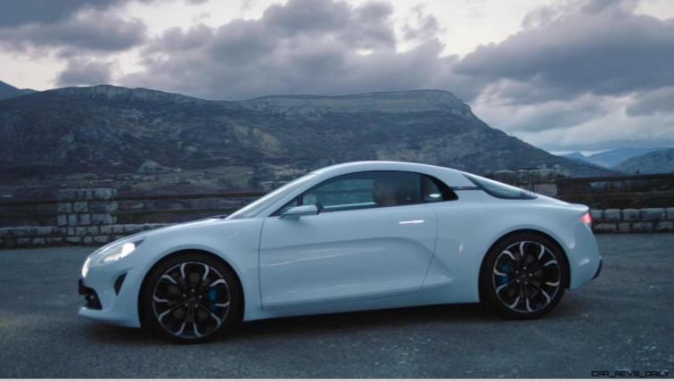 2016 Renault ALPINE Vision Concept - Video Stills 33