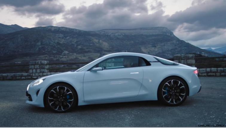2016 Renault ALPINE Vision Concept - Video Stills 34