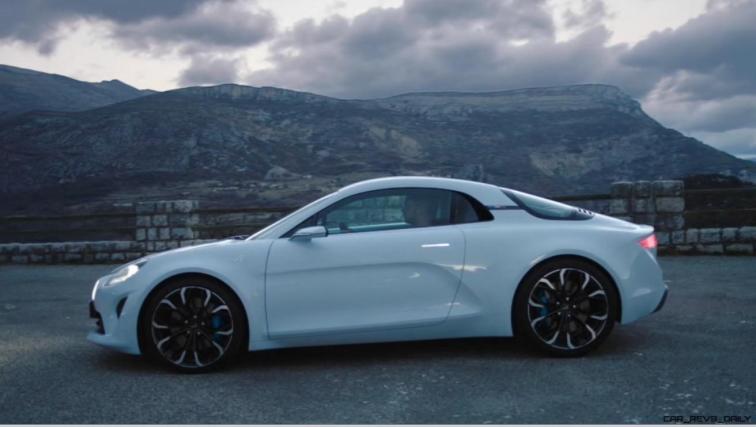 2016 Renault ALPINE Vision Concept - Video Stills 35
