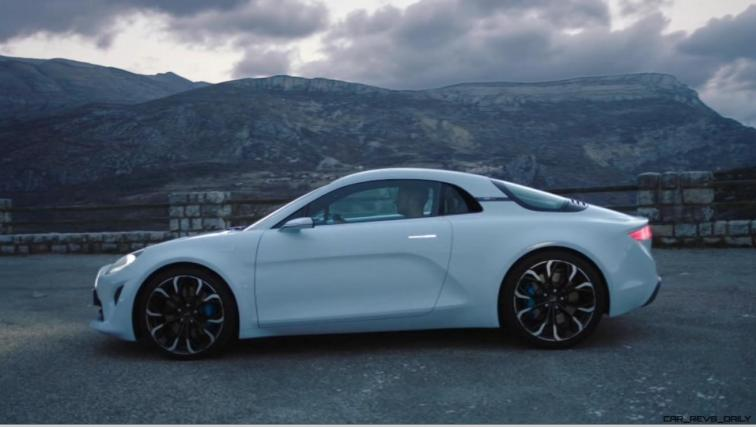 2016 Renault ALPINE Vision Concept - Video Stills 36