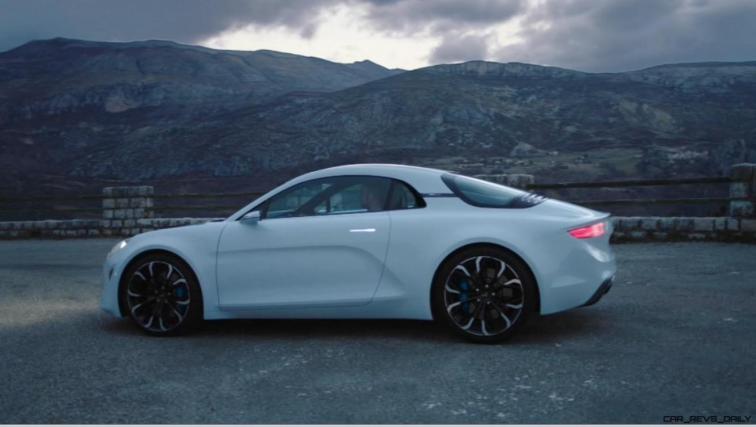 2016 Renault ALPINE Vision Concept - Video Stills 39