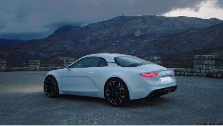 2016 Renault ALPINE Vision Concept - Video Stills 46