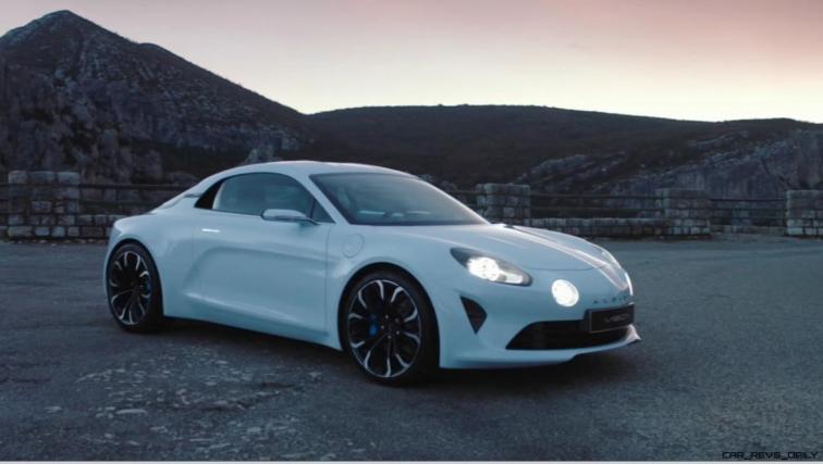 2016 Renault ALPINE Vision Concept - Video Stills 48