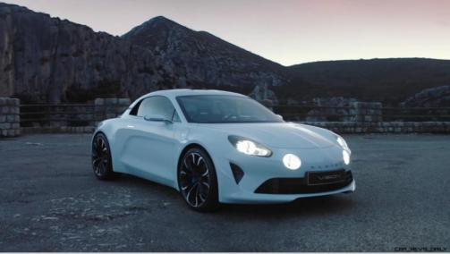 2016 Renault ALPINE Vision Concept - Video Stills 51