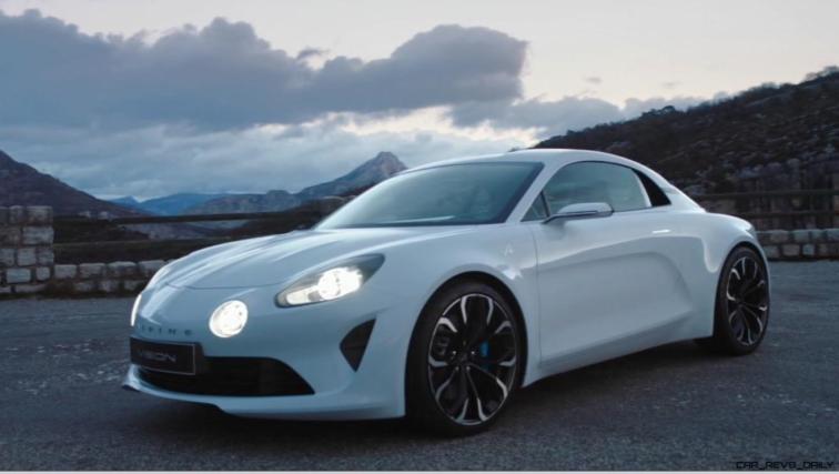 2016 Renault ALPINE Vision Concept - Video Stills 64