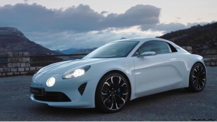 2016 Renault ALPINE Vision Concept - Video Stills 65