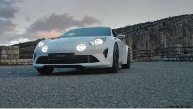 2016 Renault ALPINE Vision Concept - Video Stills 70