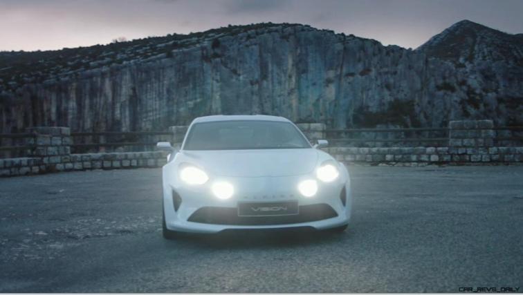 2016 Renault ALPINE Vision Concept - Video Stills 9