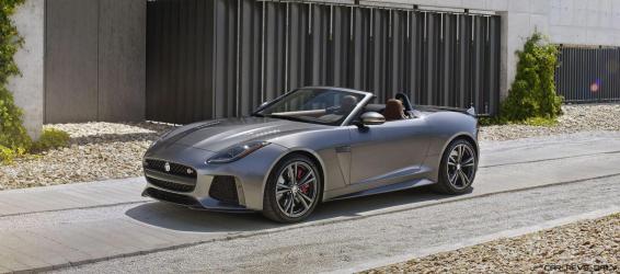 2017 Jaguar F-TYPE SVR 19