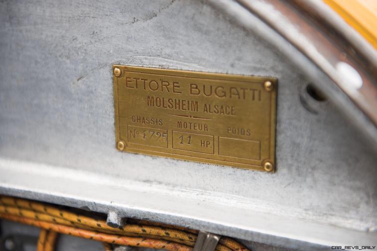 1925 Bugatti Type 30 Tourer 38