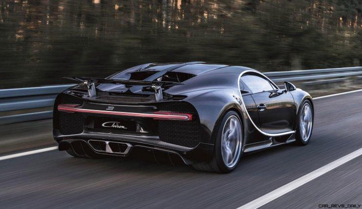 2017 Bugatti CHIRON Black Dynamic 5