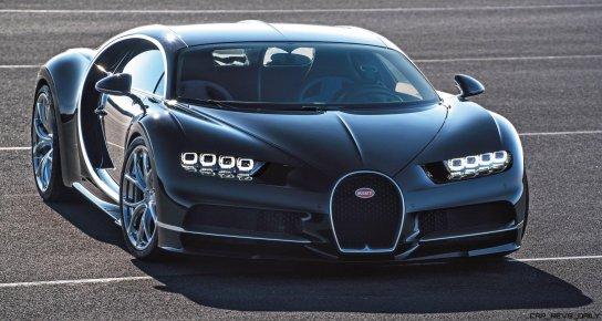 2017 Bugatti CHIRON Black Dynamic 6