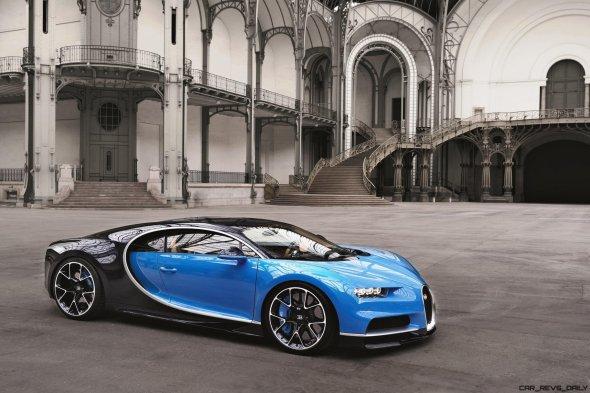 2017 Bugatti CHIRON Grand Palais 6