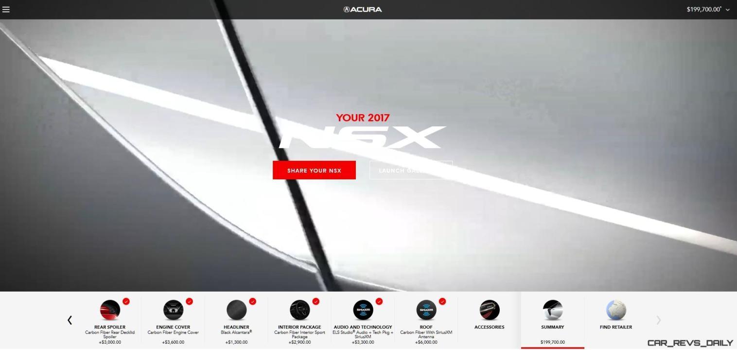 2017 NSX Configurator 35