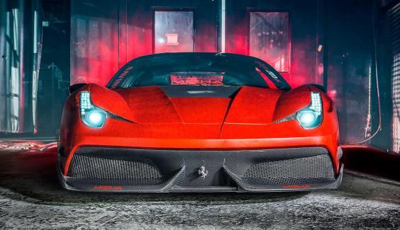 Ferrari 458 Widebody by MISHA Designs 2