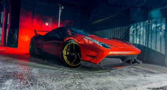 Ferrari 458 Widebody by MISHA Designs 3
