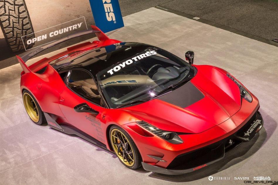 Ferrari 458 Widebody by MISHA Designs 4