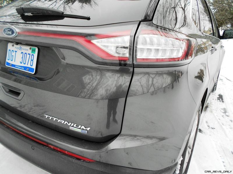 2016 Ford EDGE AWD Titanium 11