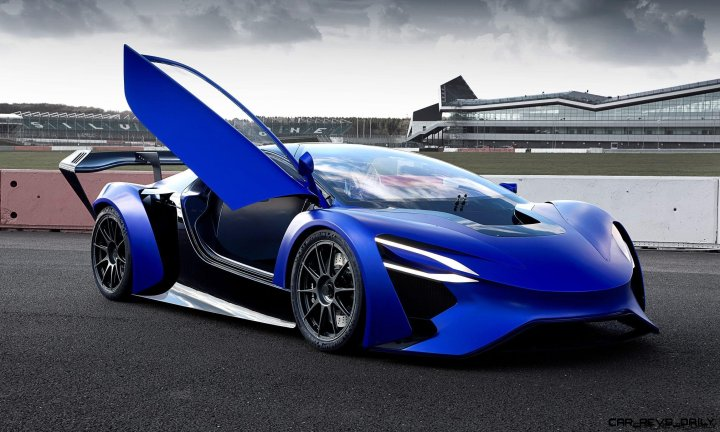 2016 TechRules AT96 TREV Supercar Concept 1