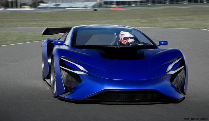 2016 TechRules AT96 TREV Supercar Concept 5
