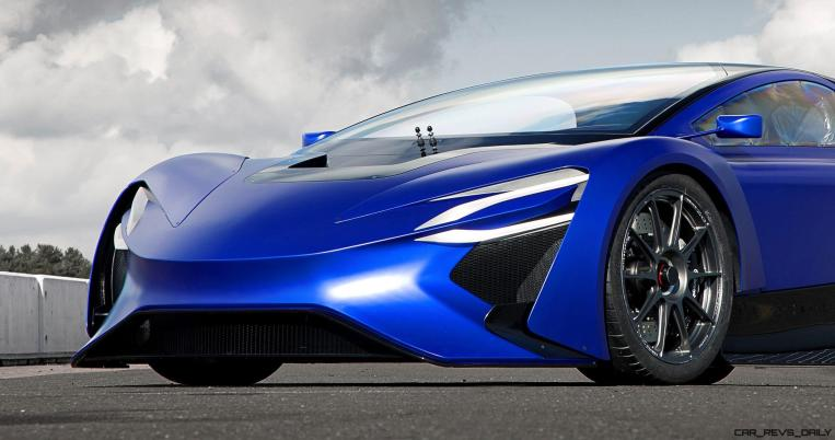 2016 TechRules AT96 TREV Supercar Concept 8