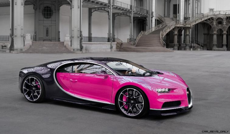 2017 Bugatti CHIRON - Color Visualizer - Draft Renderings 103