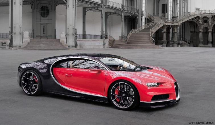 2017 Bugatti CHIRON - Color Visualizer - Draft Renderings 105