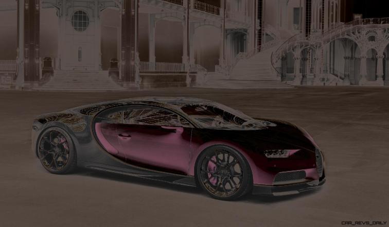 2017 Bugatti CHIRON - Color Visualizer - Draft Renderings 111