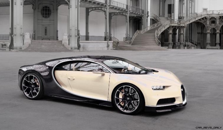 2017 Bugatti CHIRON - Color Visualizer - Draft Renderings 114