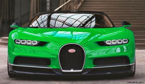 2017 Bugatti CHIRON - Color Visualizer - Draft Renderings 20