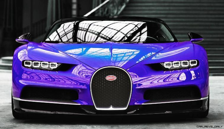 2017 Bugatti CHIRON - Color Visualizer - Draft Renderings 25