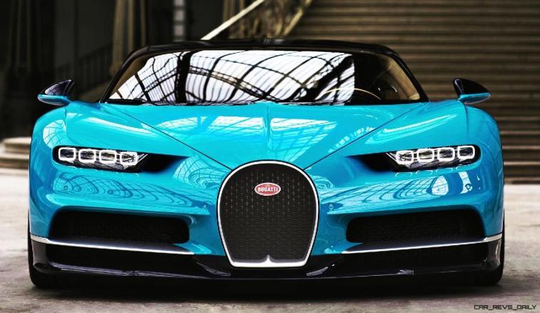 2017 Bugatti CHIRON - Color Visualizer - Draft Renderings 28
