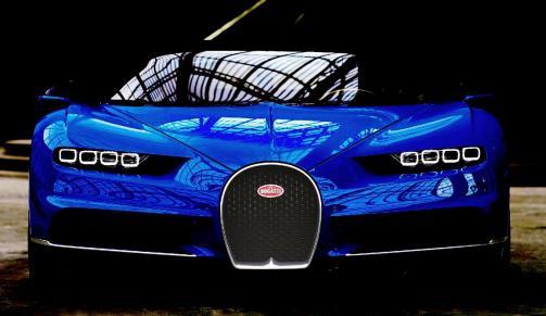 2017 Bugatti CHIRON - Color Visualizer - Draft Renderings 30