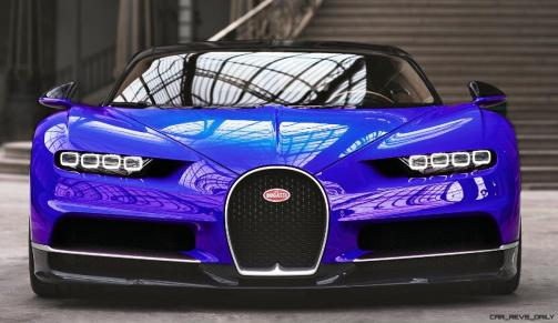 2017 Bugatti CHIRON - Color Visualizer - Draft Renderings 40