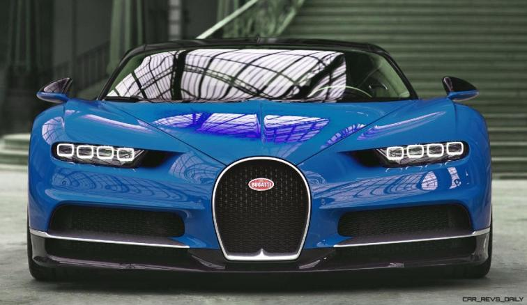 2017 Bugatti CHIRON - Color Visualizer - Draft Renderings 5