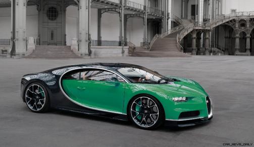 2017 Bugatti CHIRON - Color Visualizer - Draft Renderings 76